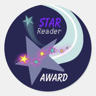 Star Reader Award Sticker