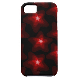 Star red black 4 case for the iPhone 5
