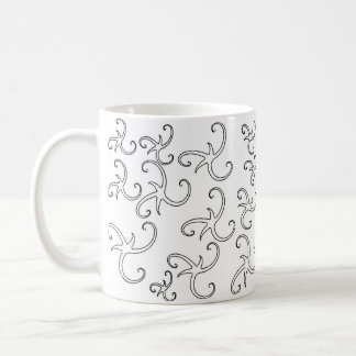 Star Ribbon Outlines Coffee Mug