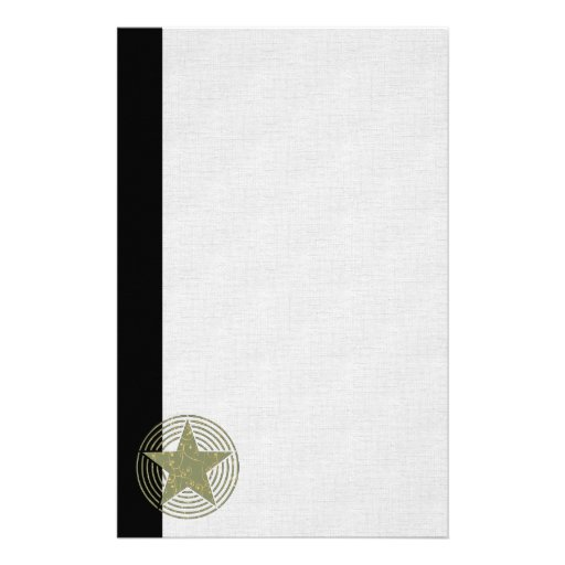 Star Rings Stationery Design