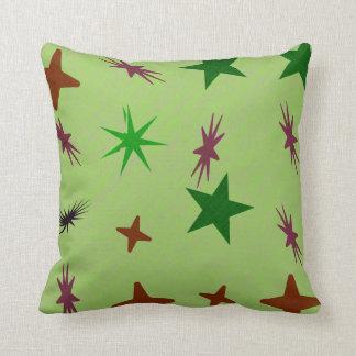 Star rock throw pillow