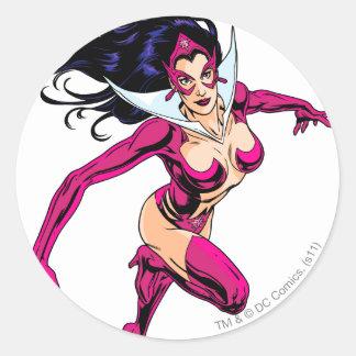Star Sapphire 1 Round Sticker