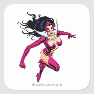 Star Sapphire 1 Square Stickers