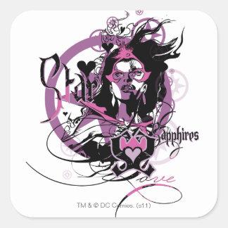 Star Sapphire Graphic 6 Stickers