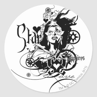 Star Sapphire Graphic 7 Stickers
