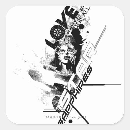 Star Sapphire Graphic 9 Stickers