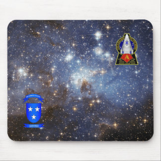 Star Seeker Galaxy Mouse Pad - Alpha Patch