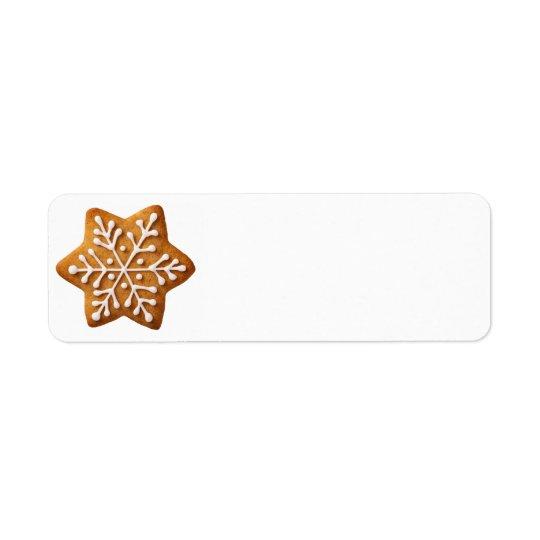 Star Shape Christmas Gingerbread
