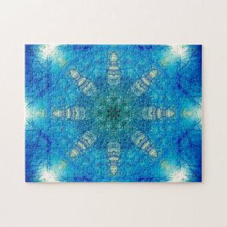 Star Shaped Mandala Jigsaw Puzzle
