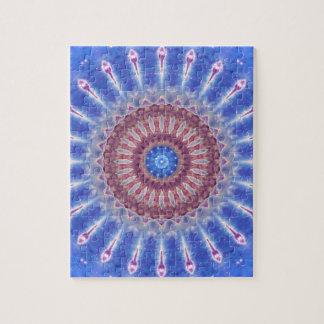 Star Shield Mandala Jigsaw Puzzle