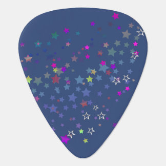Star Shine Party Stars, midnight Guitar Pick
