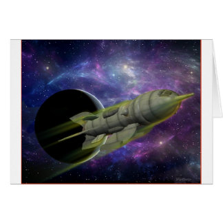 Star Ship All Occasion Card
