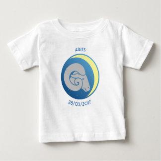Star Sign Baby T-shirt Aries