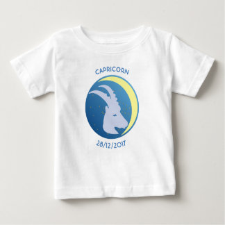 Star Sign Baby T-shirt Capricorn