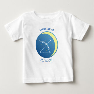 Star Sign Baby T-shirt Sagittarius