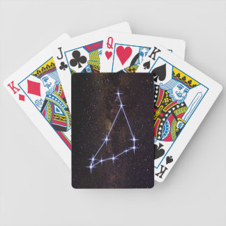 Star Sign Capricorn Bicycle Playing Cards