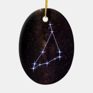 Star Sign Capricorn Ceramic Ornament