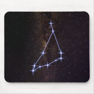 Star Sign Capricorn Mouse Pad