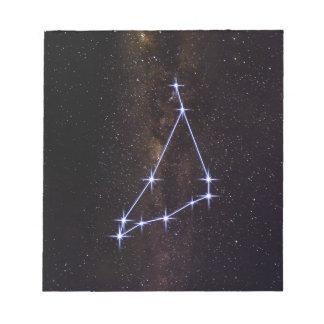 Star Sign Capricorn Notepad