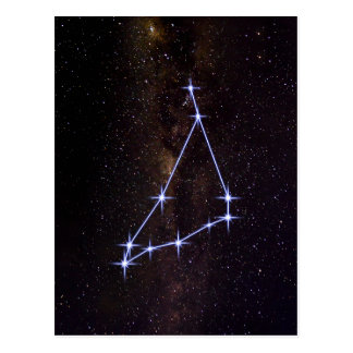 Star Sign Capricorn Postcard