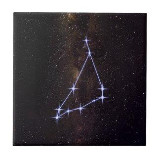 Star Sign Capricorn Tile