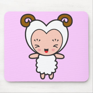 Star Sign Character - Aries Mouse Pad