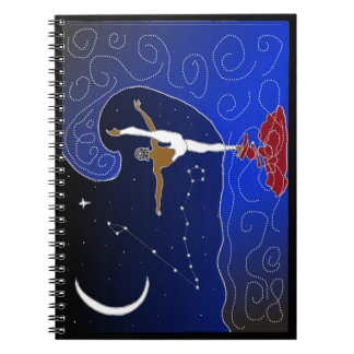 STAR sign collection: Pisces Spiral Notebook