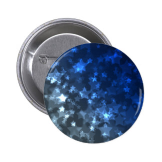 Star Simulation Space Blue Lights Lighting 2 Inch Round Button