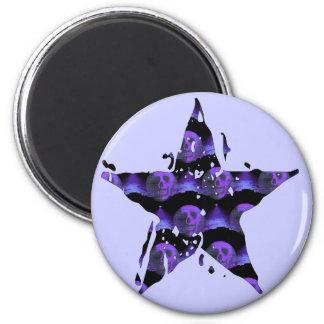 Star Skulls Magnet