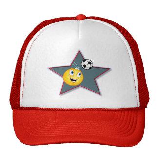 Star Smile Ball Trucker Hat