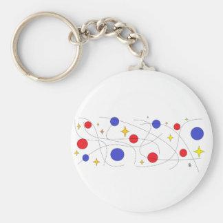 star space keychain