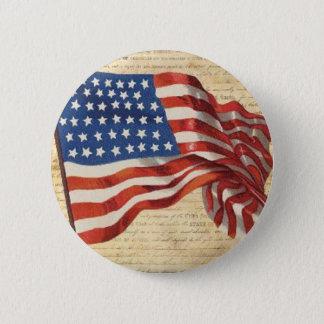 Star Spangled Banner 2 Inch Round Button