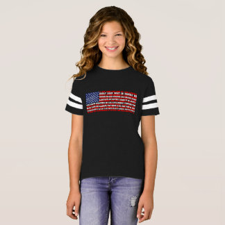STAR-SPANGLED BANNER AND PLEDGE OF ALLEGIANCE TEE
