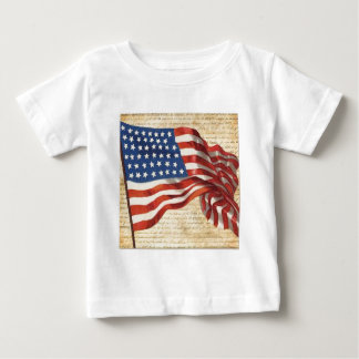 Star Spangled Banner Baby T-Shirt