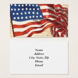 Star Spangled Banner Business Card