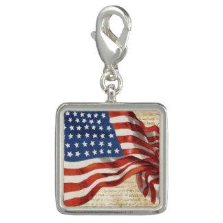 Star Spangled Banner Charm