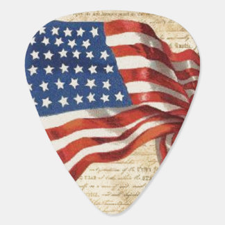 Star Spangled Banner Guitar Pick