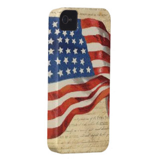 Star Spangled Banner iPhone 4 Cover
