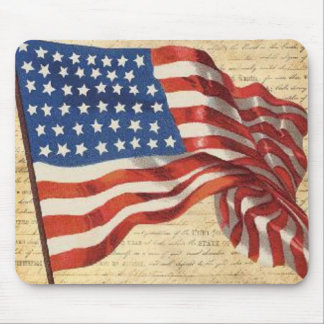 Star Spangled Banner Mouse Pad