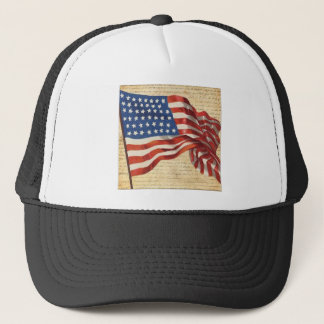 Star Spangled Banner Trucker Hat