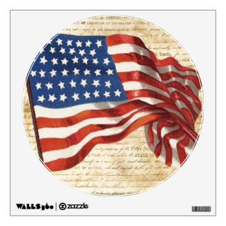 Star Spangled Banner Wall Sticker