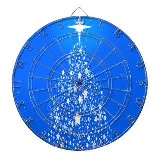 Star Spangled Snowflake Christmas Tree Dart Boards
