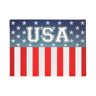 Star-Spangled Style Doormat