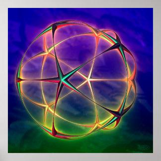 Star Sphere Poster