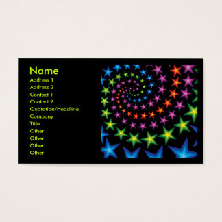 star spirals business card