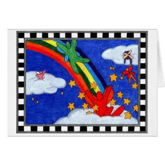 Star Sprinkles Greeting Card