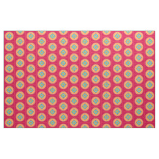 star square polygon fabric