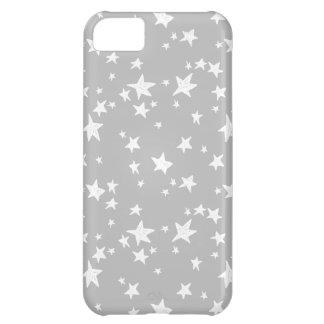 Star/Stars - Slate Grey Neutral / Andrea Lauren iPhone 5C Cover
