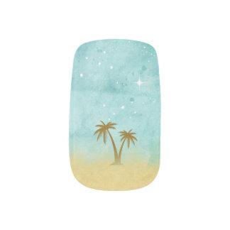 Star Struck Palms Minx Nail Art