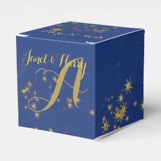 Star Studded Night Wedding Favor Boxes